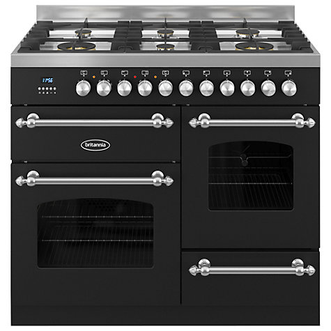 Buy Britannia RC-10XGG-FL Fleet Dual Fuel Range Cooker Online at johnlewis.com