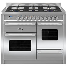 Buy Britannia RC-11XGG-DE Delphi Dual Fuel Range Cooker Online at johnlewis.com