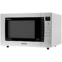 Buy Panasonic NN-CT880MBPQ Combination Microwave, Silver Online at johnlewis.com