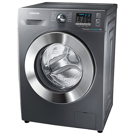 Buy Samsung WF70F5E2W4X ecobubble™ Washing Machine, 7kg Load, A+++ Energy Rating, 1400rpm Spin, Graphite Online at johnlewis.com