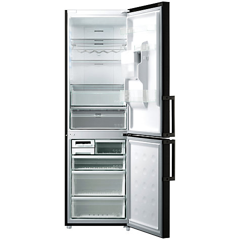 Buy Samsung RL58GPEBP1 Non-Plumbed Fridge Freezer, Black Online at johnlewis.com