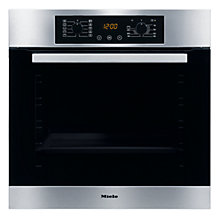 Buy Miele H4810B Single Electric Oven, Stainless Steel Online at johnlewis.com