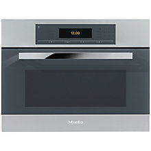 Buy Miele DGC5080XL Single Electric Steam Oven, Stainless Steel Online at johnlewis.com