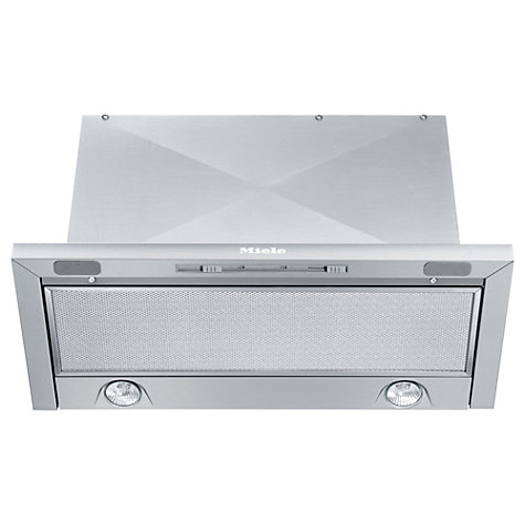 Buy Miele DA3360 Built In Cooker Hood, Stainless Steel Online at johnlewis.com