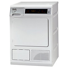 Buy Miele T8007 SupertronicTumble Dryer, 8kg Load, A Energy Rating, White Online at johnlewis.com