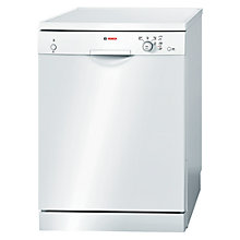 Buy Bosch SMS40T42UK Freestanding Dishwasher, White Online at johnlewis.com