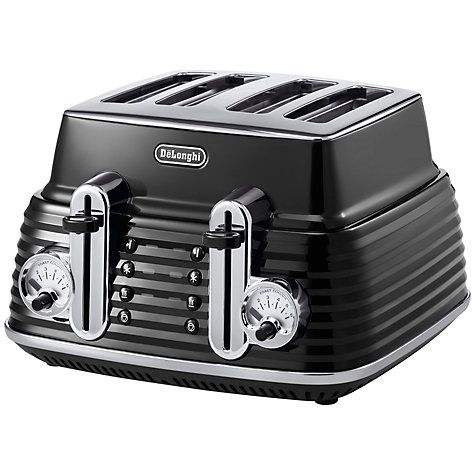 Buy De'Longhi 4-Slice Scultura Toaster Online at johnlewis.com