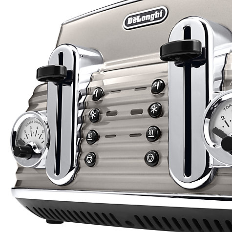 Buy De'Longhi Scultura 4-Slice Toaster Online at johnlewis.com