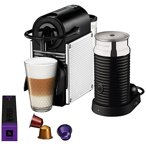 Buy Nespresso Pixie Automatic Coffee Maker and Aeroccino by Magimix Online at johnlewis.com