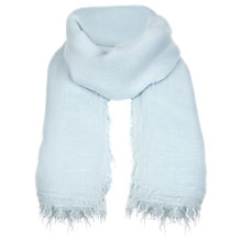 Buy Jigsaw Talla Scarf, Blue Online at johnlewis.com