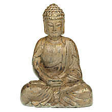 Buy John Lewis Sitting Buddha Ornament, Gold Online at johnlewis.com