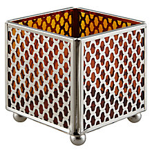 Buy John Lewis Trellis Tealight Holder Online at johnlewis.com