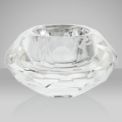 Buy Crystal Tealight Holder Online at johnlewis.com