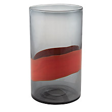 Buy John Lewis Aurora Vase, Red Online at johnlewis.com