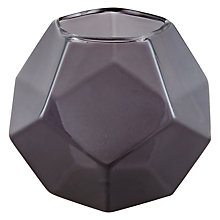 Buy John Lewis Polygon Tealight Holder Online at johnlewis.com