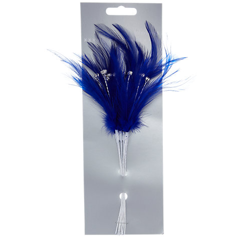 Buy John Lewis Diamanté Feathers Online at johnlewis.com