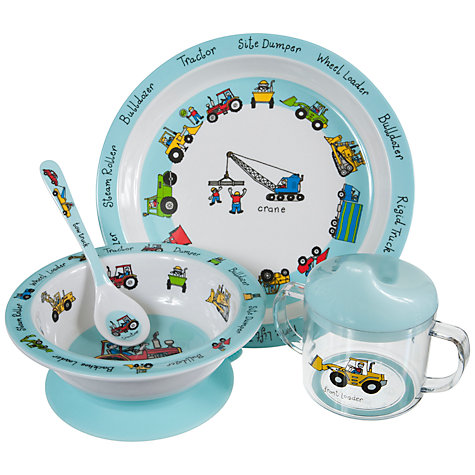 Buy Tyrrell Katz Working Wheels Feeding Set Online at johnlewis.com