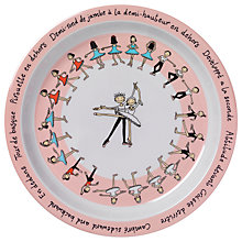 Buy Tyrrell Katz Ballet Plate, Multi Online at johnlewis.com