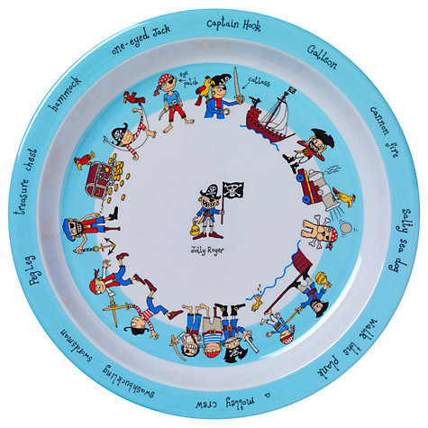Buy Tyrrell Katz Pirate Plate, Multi Online at johnlewis.com