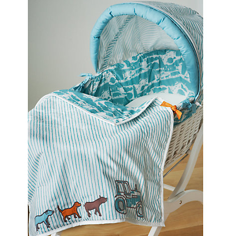 Buy Baby Joule Farm Moses Basket, Multi Online at johnlewis.com
