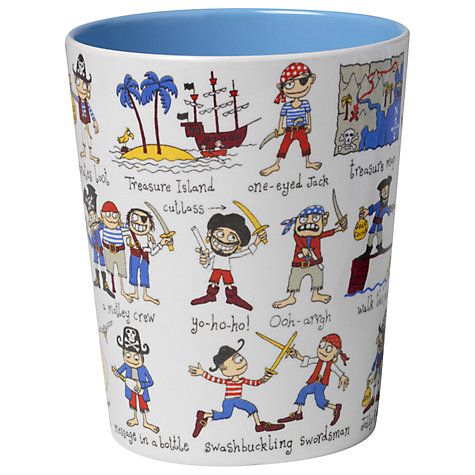 Buy Tyrrell Katz Pirate Beaker, Multi Online at johnlewis.com