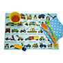 Tyrrell Katz Working Wheels Placemat, Multi