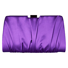 Buy Coast Ella Clutch Handbag, Purple Online at johnlewis.com