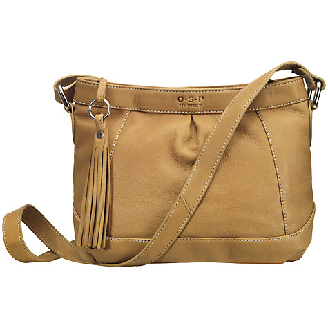 Buy O.S.P OSPREY The Genoa Leather Across Body Handbag Online at johnlewis.com