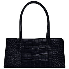 Buy O.S.P OSPREY Helsinki Mock Croc Handbag, Navy Online at johnlewis.com