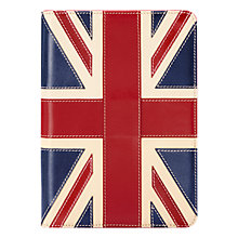 Buy Aspinal of London Brit iPad Mini Stand Up Case, Red/White/Blue Online at johnlewis.com