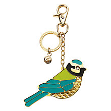 Buy Aspinal of London Blue Tit Keyring, Gold Online at johnlewis.com