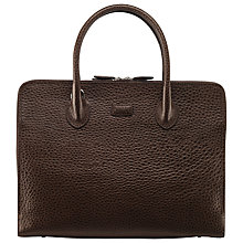 Buy OSPREY LONDON Correspondent Leather Grab Handbag Online at johnlewis.com