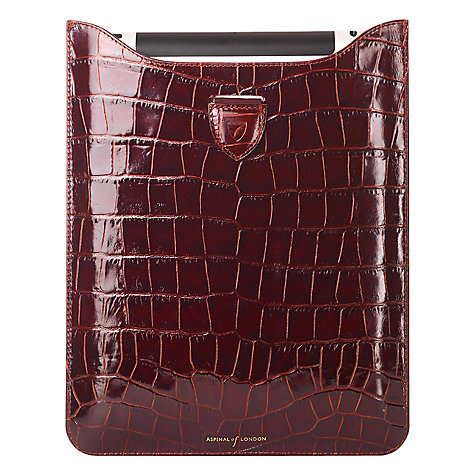Buy Aspinal of London iPad with Retina Display Sleeve Online at johnlewis.com