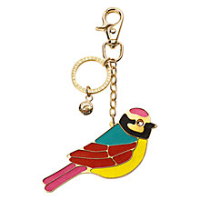 Buy Aspinal of London Secret Garden Handbag Charm & Keyring, Gold Online at johnlewis.com
