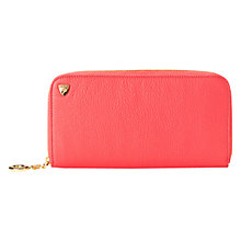 Buy Aspinal of London Sofia Wallet, Coral Online at johnlewis.com