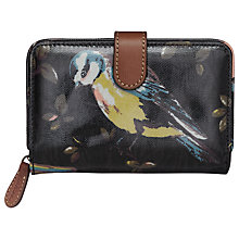 Buy Cath Kidston Folded Zip Wallet, Garden Bird Online at johnlewis.com