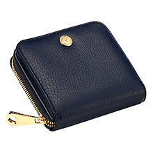 Buy Aspinal of London Katie Mini Continental Leather Zipped Purse Online at johnlewis.com