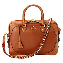 Buy Aspinal of London Sofia Leather Grab Bag, Tan Online at johnlewis.com