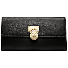 Buy MICHAEL Michael Kors Hamilton 18K Flap Over Wallet Online at johnlewis.com