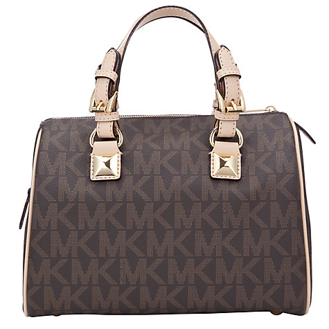 Buy MICHAEL Michael Kors Grayson Satchel Handbag Online at johnlewis.com