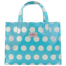 Buy Cath Kidston Open Carryall Bag, Big Spot Blue Online at johnlewis.com
