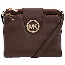 Buy MICHAEL Michael Kors Fulton Crossbody Bag Online at johnlewis.com
