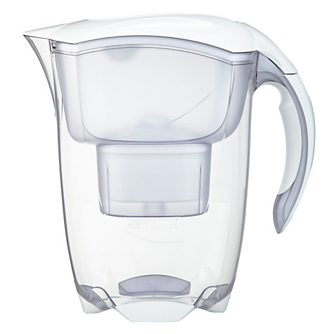 Buy Brita Elemaris XL Water Filter Jug, White, 3.5L Online at johnlewis.com