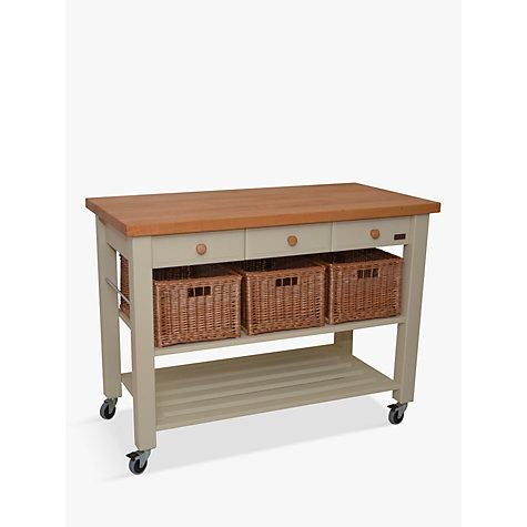 buy eddingtons lamborn 3 drawer butcher s trolley john lewis