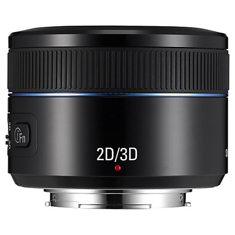 Buy Samsung NX 45mm f/1.8 - 3.5 2D/3D Telephoto Lens Online at johnlewis.com