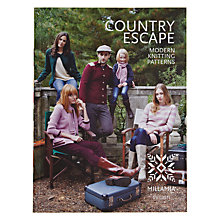 Buy MillaMia Country Escape Modern Knitting Patterns Book Online at johnlewis.com