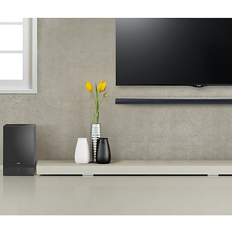Buy LG NB4530A 2.1 Bluetooth Sound Bar with Wireless Subwoofer Online at johnlewis.com