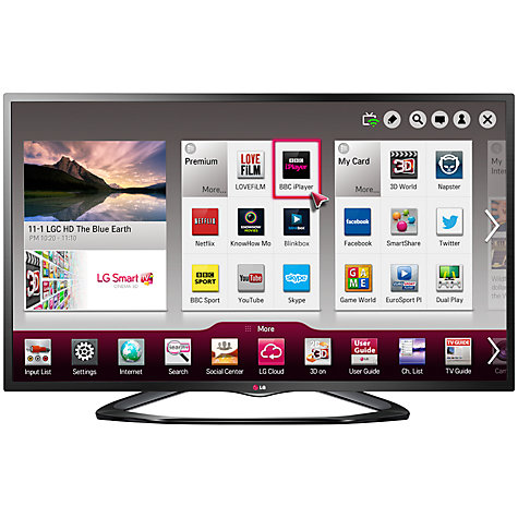 "Buy LG 32LN575V LED HD 1080p Smart TV, 32"" with Freeview HD Online at johnlewis.com"