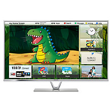 "Buy Panasonic Viera TX-L47FT60B LED HD 1080p 3D Smart TV, 47"", Freeview HD with Voice Control and 2x 3D Glasses Online at johnlewis.com"