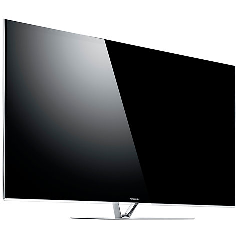 "Buy Panasonic Viera TX-P65VT65B Plasma HD 1080p 3D Smart TV, 65"", Freeview/Freesat HD and Voice Recognition with 2x 3D Glasses Online at johnlewis.com"